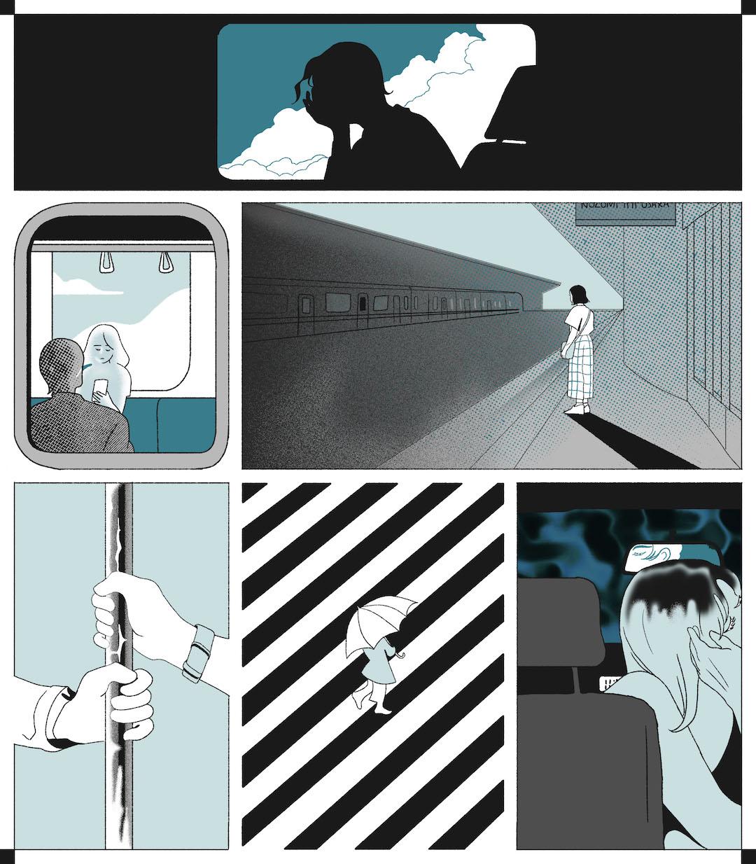 GirlsclubAsia-Artist-Gica Tam-Commute